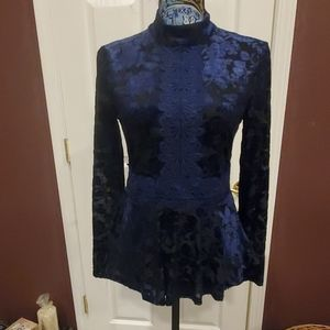 NWT black and deep royal blue.